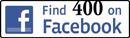 400 on Facebook